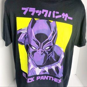 Marvel Avengers Black Panther Super Hero T-Shirt